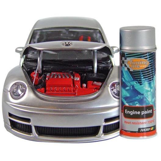 MOTIP - barva na motory ve spreji - aluminium, 400 ml