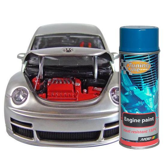 MOTIP - barva na motory ve spreji - modrá, 400 ml