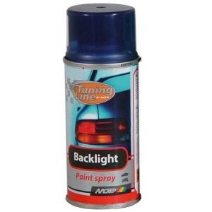MOTIP - ztmavovač na koncová světla - modrý sprej, 150 ml