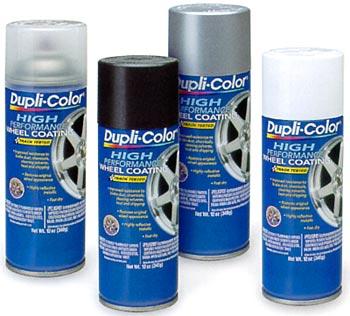 DUPLI COLOR - stříbrný sprej na kola, 150 ml