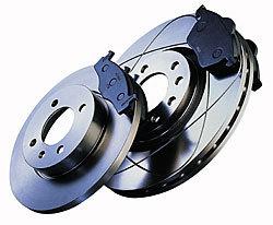 Zimmer. zad. sportovní brzdové kotouče -nechlazené OPEL VECTRA B -motor 2.0 DI 16V, 2.0 DTI 16V, 2.2 DTI 16V -- r.v. 11.96-04.02