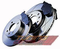 Zimmermann přední sportovní brzdové kotouče -vzduchem chlazené LAND ROVER DISCOVERY II (LJ, LT) -motor 2.5 TDI-r.v. 10.95-