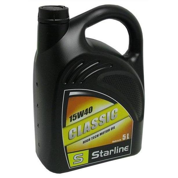 Motorový olej STARLINE CLASSIC 15W40, balení 5 litrů