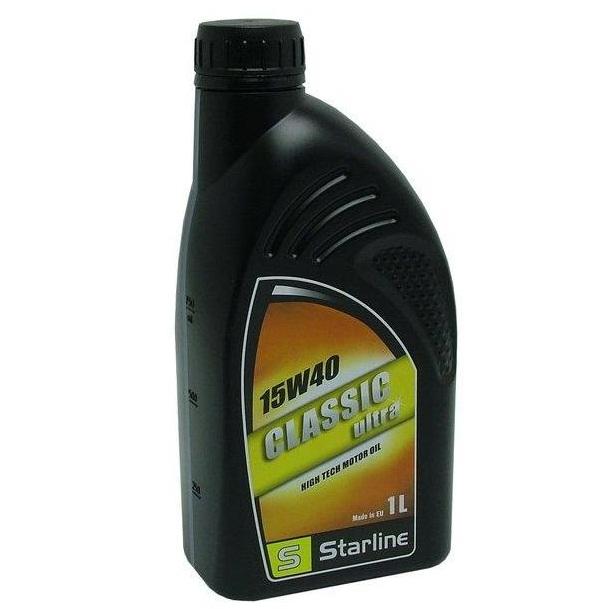 Motorový olej STARLINE CLASSIC ULTRA 15W40 , balení 1 litr