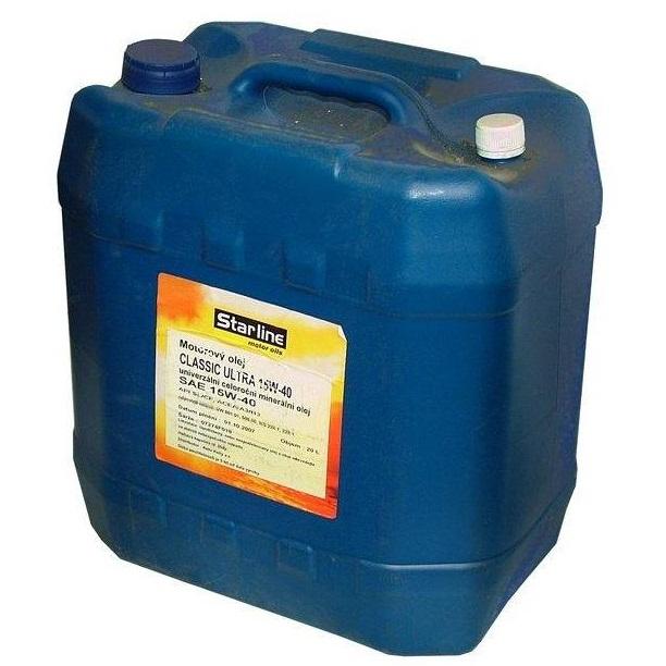 Motorový olej STARLINE CLASSIC ULTRA 15W40 , balení 20 litrů
