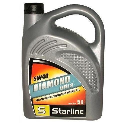 Motorový olej STARLINE DIAMOND ULTRA 5W40, balení 5 litrů