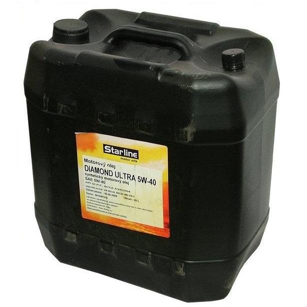 Motorový olej STARLINE DIAMOND ULTRA 5W40, balení 20 litrů