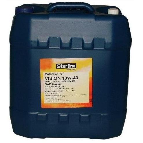 Motorový olej STARLINE VISION 10W40, balení 20 litrů