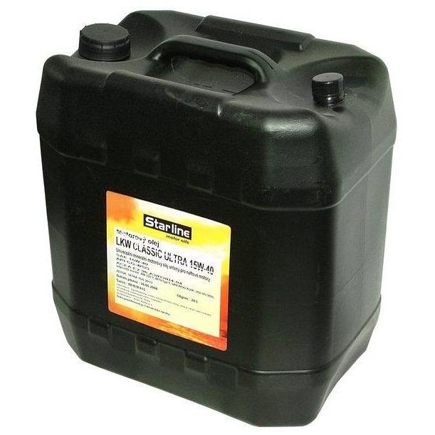 Motorový olej STARLINE LKW-CLASSIC ULTRA 15W40, balení 20 litrů
