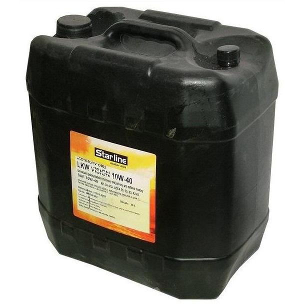 Motorový olej STARLINE LKW-VISION 10W40, balení 20 litrů
