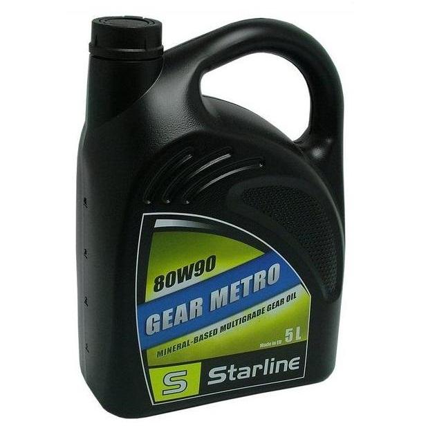 Převodový olej STARLINE GEAR METRO 80W/90, balení 5 litrů
