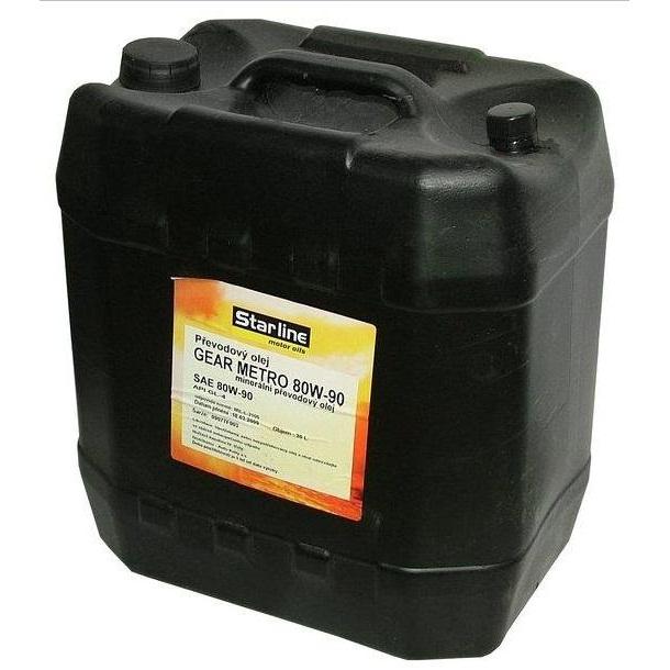 Převodový olej STARLINE GEAR METRO 80W/90, balení 20 litrů