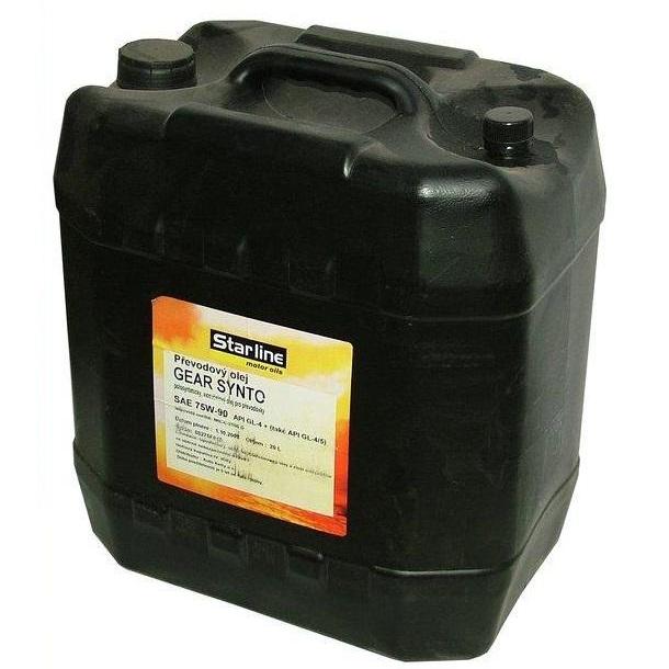 Převodový olej STARLINE GEAR SYNTO 75W/90, balení 20 litrů