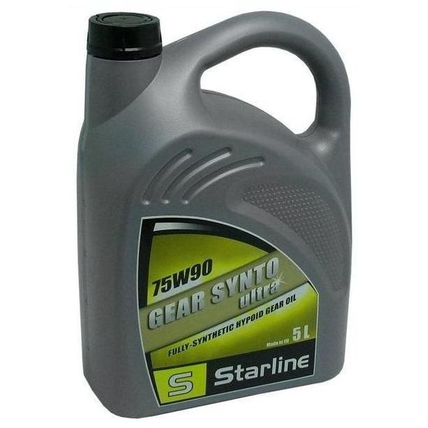 Převodový olej STARLINE GEAR SYNTO ULTRA 75W/90, balení 5 litrů