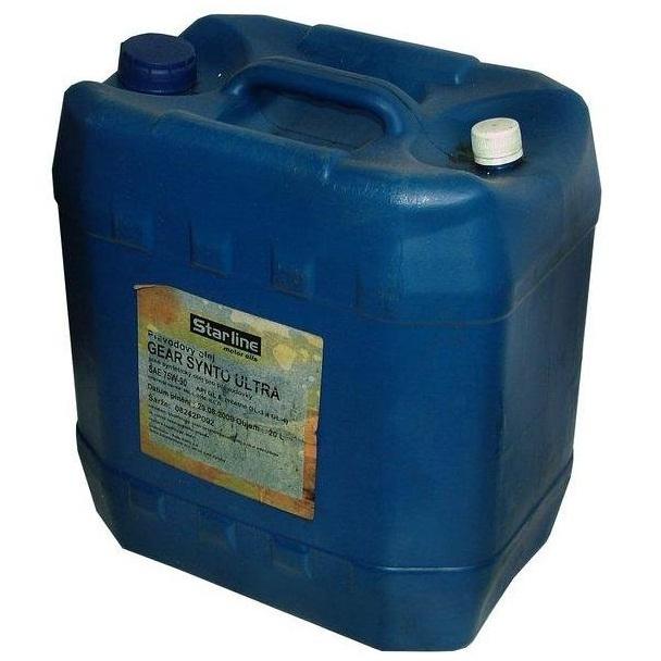 Převodový olej STARLINE GEAR SYNTO ULTRA 75W/90, balení 20 litrů