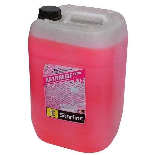 Nemrznoucí směs STARLINE K12, balení 25 litrů