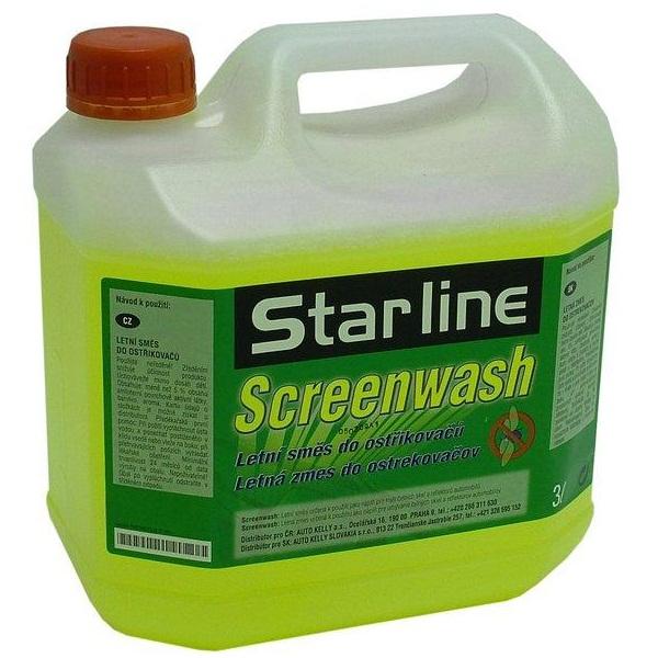 Letní směs do ostřikovačů STARLINE, balení 3litry