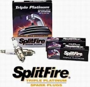 Zapalovací svíčka Splitfire Triple Platinum Nissan Terrano 2.4 4x4 Exhaust, r.v. 86, 103HP