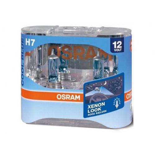 Autožárovky H7 OSRAM Cool Blue 55W