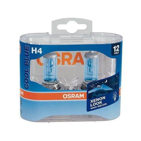 Autožárovky H4 OSRAM Cool Blue 12V - 55/60W