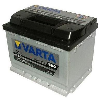 Autobaterie Varta BLACK dynamic ,56Ah L, s.p. 480A ,12V