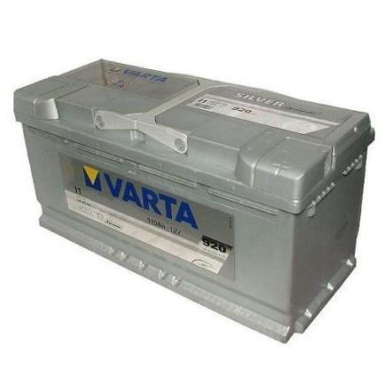 Autobaterie Varta SILVER dynamic, 110Ah P, s.p. 920A ,12V