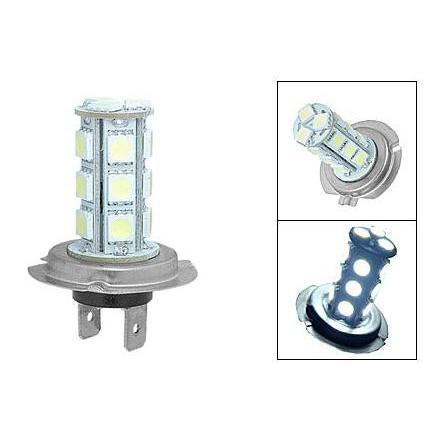 LED žárovka 12V s paticí H7, 18 SMD LED, 1ks