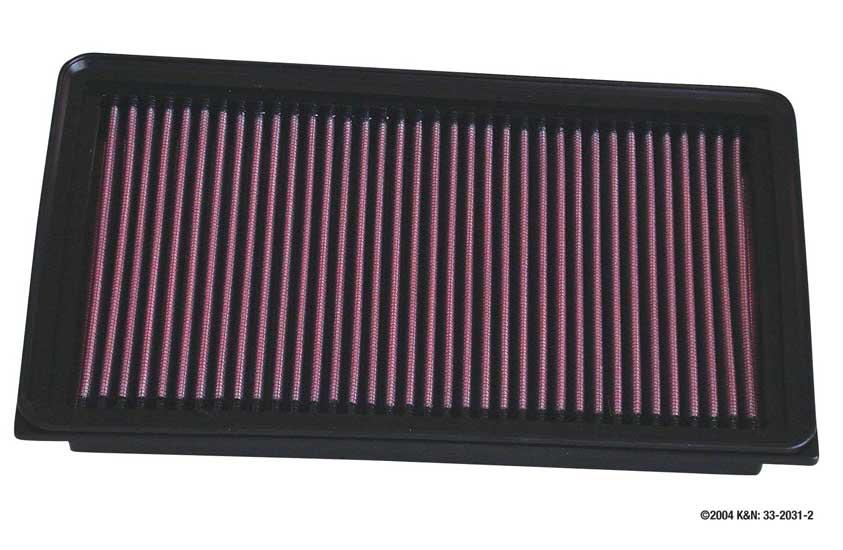 Sportovní filtr KN Nissan Terrano II, 2.4L, typ motoru 2.4L L4 F/I, r.v.93-05
