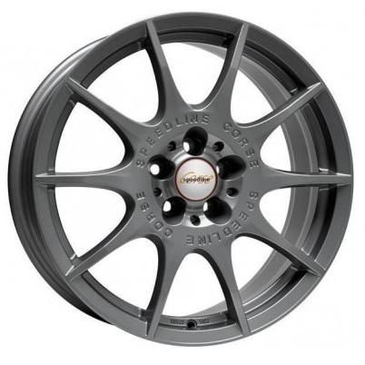 Alu kola Speedline Marmora SL2 by Ronal, antracitová matná, velikost 7,5x17, 1ks