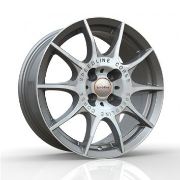 Alu kola Speedline Marmora SL2 by Ronal, antracitová/leštěná, velikost 8,5x20, 1ks