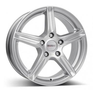 Alu kola Dezent L silver, velikost 6,5x15, 1ks
