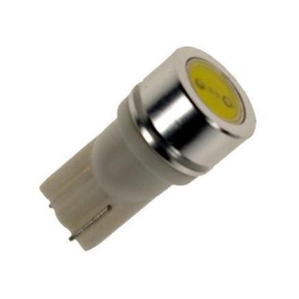 Žárovka parkovací W5W, T10 - 1 x 1W High Power LED SMD BÍLÉ - bezpaticové, 1ks