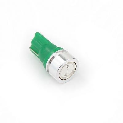 Žárovka parkovací W5W, T10 - 1 x 1W High Power LED SMD ZELENÉ - bezpaticové, 1ks