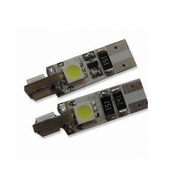 CAN-BUS žárovka parkovací - T10 (W5W) - BÍLÁ, 4xSMD, 1ks