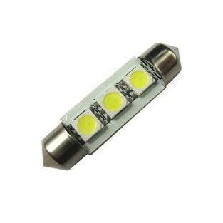 CAN-BUS sufitka bílá - Super Light, 3 SMD LED, 36mm, 1ks