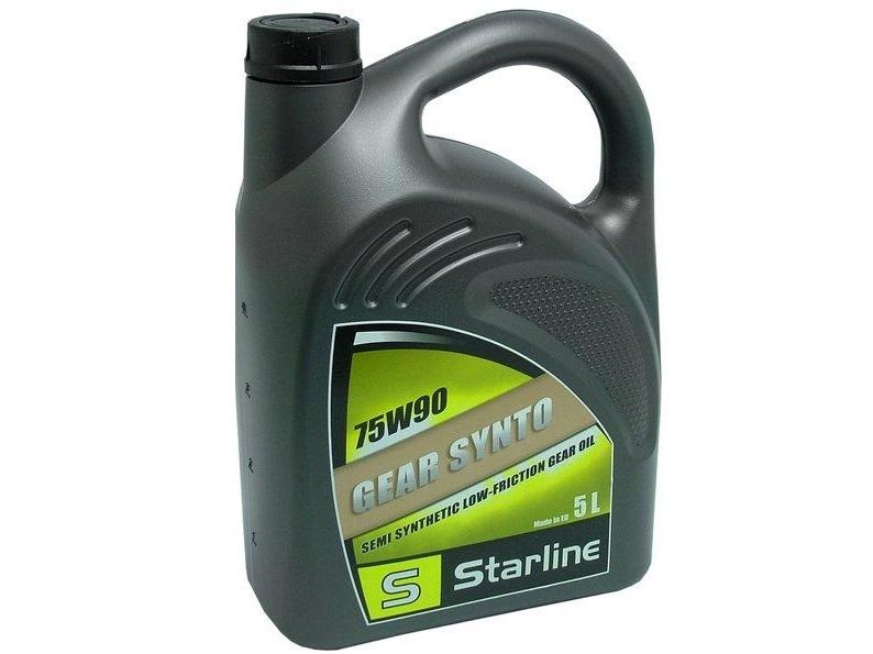 Převodový olej Starline GEAR SYNTO 75W/90,balení 5 litrů