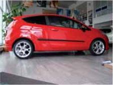 Boční ochranné lišty dveří Škoda Fabia II, r.v. 07-
