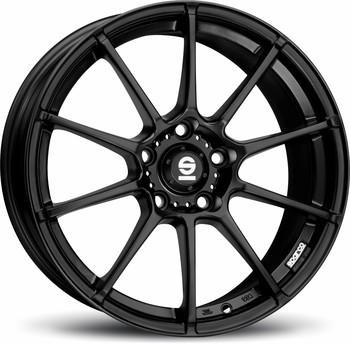 Alu kolo Sparco Gara black, velikost 6,5x15, 1ks