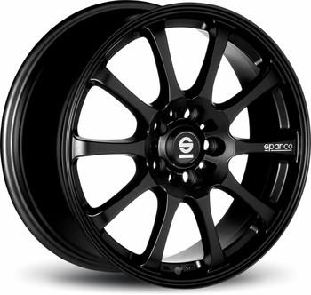 Alu kolo Sparco Drift black, velikost 6,5x15, 1ks