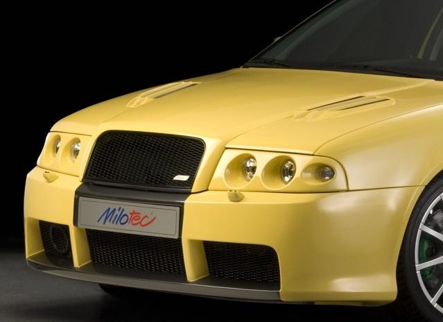 Milotec SPORT paket, přední nárazník s mřížkou, Škoda Octavia Facelift