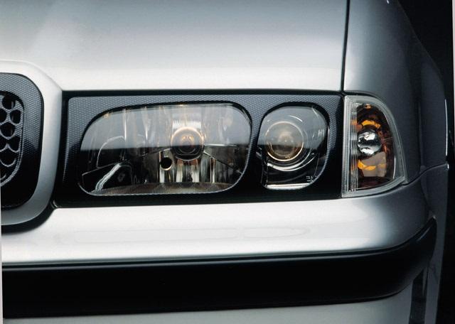 Milotec kryty světlometů (masky) - ABS karbon, Škoda Octavia