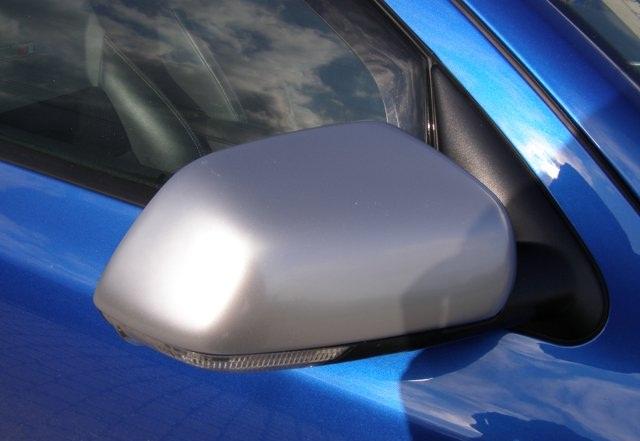 Milotec kryty zrcátek - ABS design matný chrom, symetrické