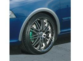 Milotec lemy blatníků, ABS stříbrný matný, Škoda Octavia RS