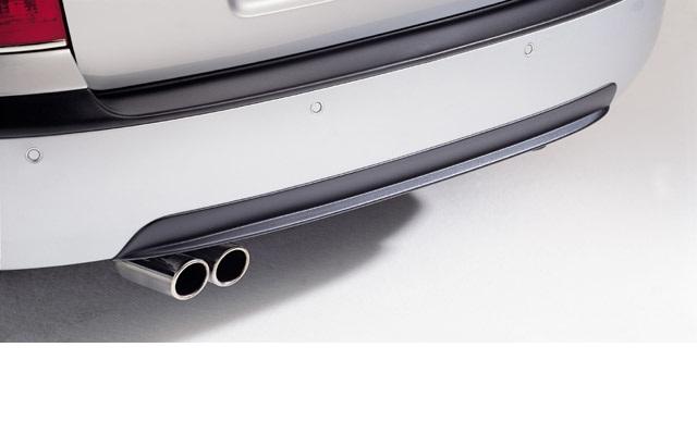 Milotec difuzor zadního nárazníku - ABS černý, Škoda Octavia