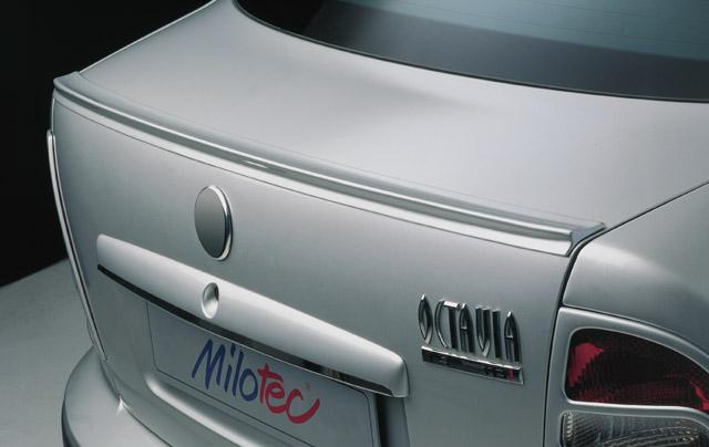 Milotec spoiler - zadní, Škoda Octavia Limousine