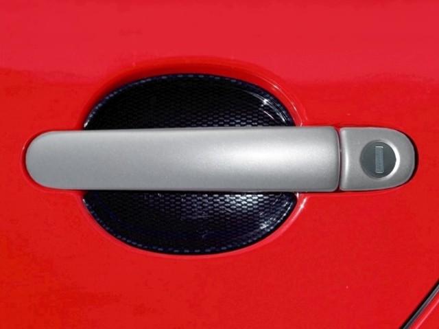 Milotec kryty klik plné, ABS stříbrný (4+4 ks jeden zámek)