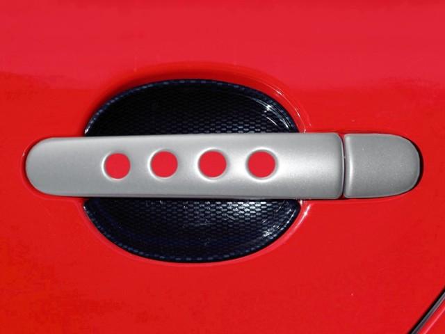 Milotec kryty klik děrované - ABS stříbrný (4 ks velký díl)