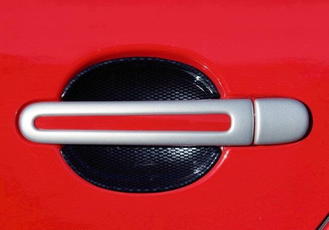Milotec kryty klik - oválný otvor, ABS stříbrný (4+4 ks bez zámku)