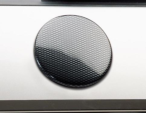 Milotec kryt emblému ABS-karbon