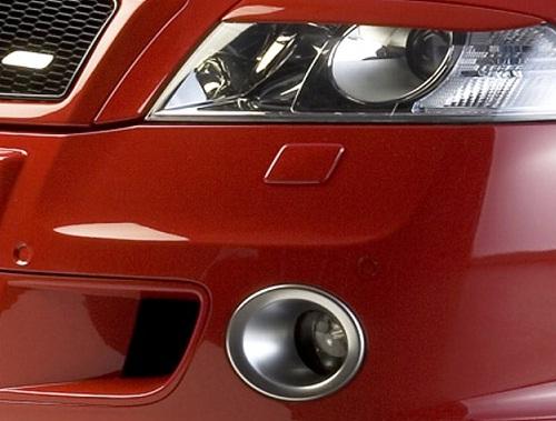 Milotec rámečky mlhových světel - ABS stříbrný, Škoda Octavia II RS